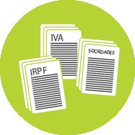 Imagen de formularios de impuestos