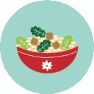 Icono de una ensalada
