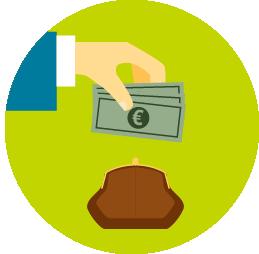Imagen sobre dinero